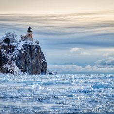 Split Rock Harbor Ice