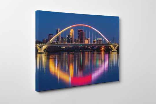 Lowery Ave. Bridge Canvas Gallery Wrap