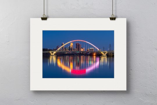 Lowery Ave. Bridge Print with White Mat